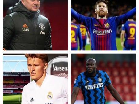 Transfer News: Messi set to stay at Nou Camp, Solskjaer, Odegaard, plus latest updates.