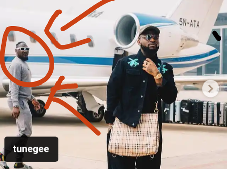 See who was spotted in Davido's pictures