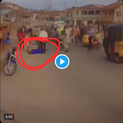 #EndSars: A Secondary School Student In Uniform Has Just Been Hit By A Stray Bullet In Ondo Town