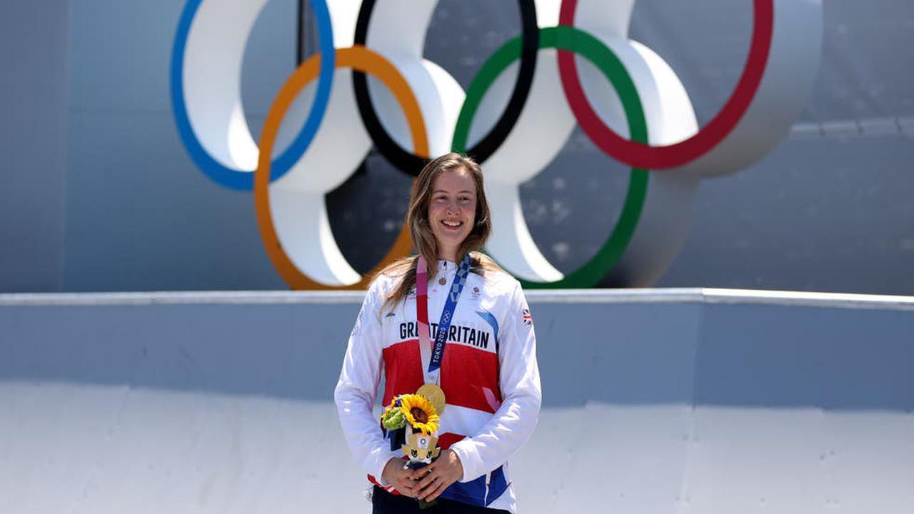 Tokyo Olympics: Charlotte Worthington produces jaw-dropping ride for historic BMX freestyle gold