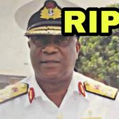 JUST IN: Former Chief of Naval Administration, Admiral Joe Aikhomu Is Dead.