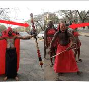 Reactions Spark As The Newly Admitted Students Of University of Calabar Dressed Weirdly