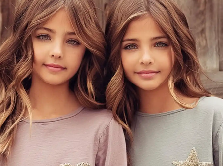 """They are So Adorable: These Girls Are Named """"The World Most Beautiful Twins""""."""