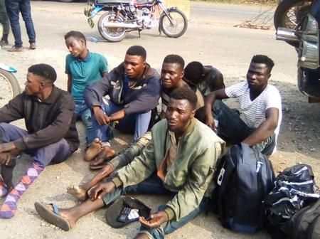 See Photos of Suspected Kidnappers Arrested in Edo Communities
