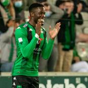 Super Eagles eligible Chelsea loanee scores a brace for his club.