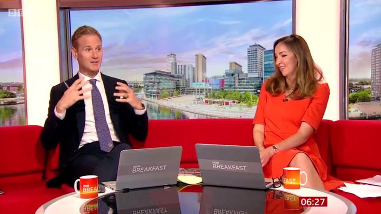 BBC Breakfast's Dan Walker reveals daughter cried after his first Strictly dance