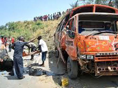 4 People Succumb To A Grisly Accident Along Mombasa Road