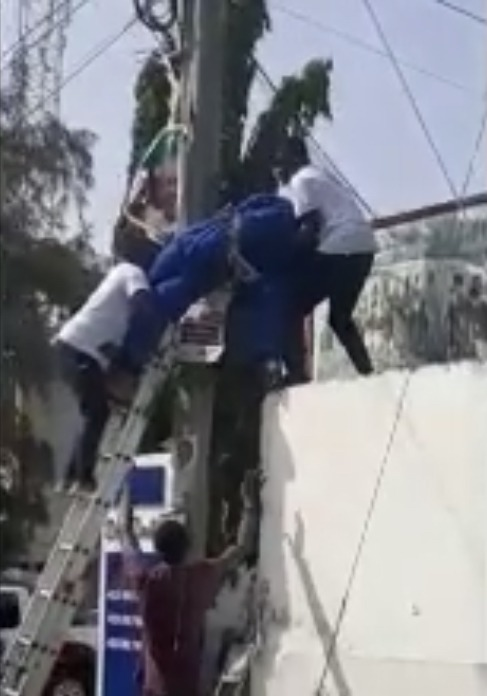 9c03eeaf98e80a59f05a387ab609708f?quality=uhq&resize=720 - The Man Who Got Electrocuted Whiles Allegedly Fixing His Party's Flag Party Has Been Recognized