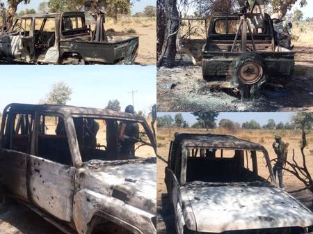 Photos From Askira Uba — Where Nigerian Troops Killed Over 100 Boko Haram Members