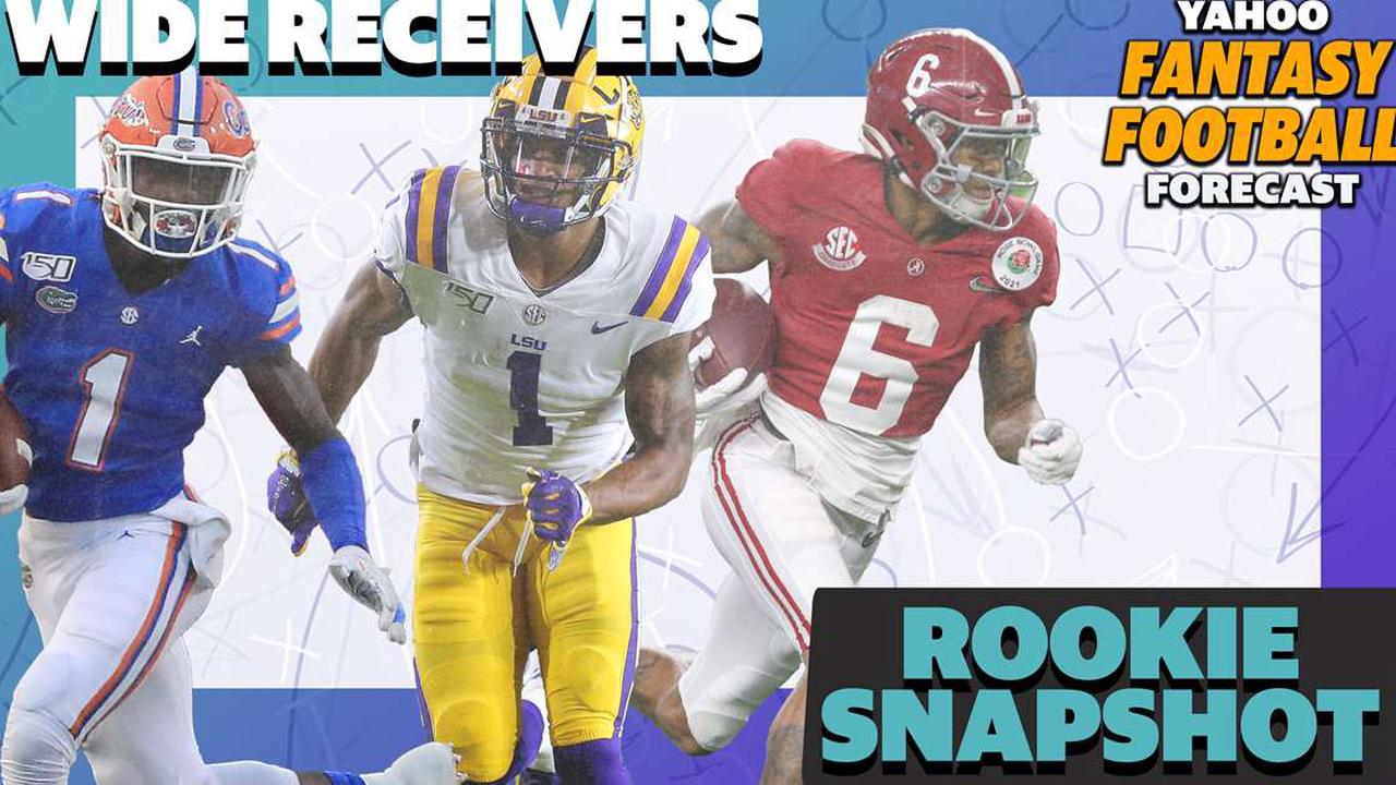 Rookie Snapshot: Wide Receivers
