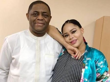 Fani-Kayode's estranged wife reacts after an actress prayed that God restores her home