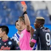 Osimhen Sees Red Card in Napoli's Europa League Victory