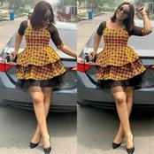 Check out these BEAUTIFUL Ankara styles for ladies. (Check photos) part 35