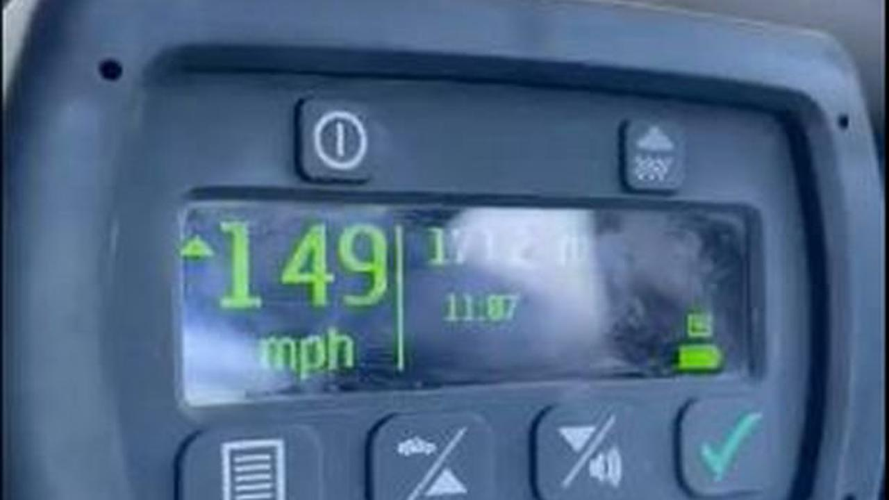 Driver clocked by police travelling at 149mph with young son in the car