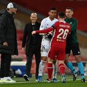 Fans Notice the Look On Zidane's Face as Casemiro and Robertson Confronted Each Other