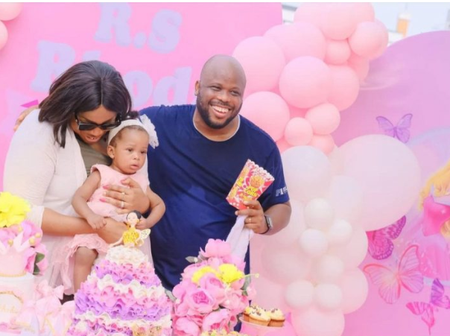 Famous Gospel Singer Sinach Share Lovely Photos Of Her Daughters First Birthday.