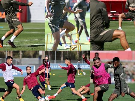 Few hours to their match against Huesca, see what Luiz Suáréz and team mates are doing