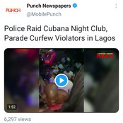 Check Out How Police Arrested People Clubbing At Cubana Night Club- (Pictures/ Videos)