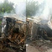 Sad News: Tears As Fatal Accident Claims Lives Of All Passengers Along Anyigba Lokoja Road, Kogi