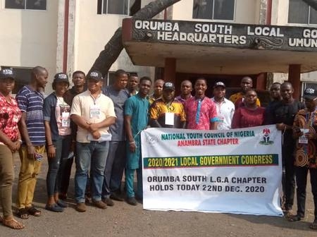 National Youth Council of Nigeria (NYCN) Congress 2020/2021, Orumba South Chapter held her Election