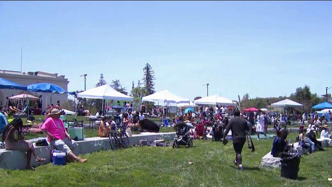 Bay Area Community Celebrate Juneteenth