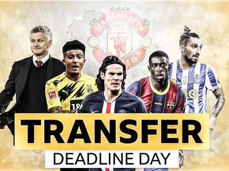 Done deal on the last minute of the transfer window, Cavani, Telles, Partey, Traore and more