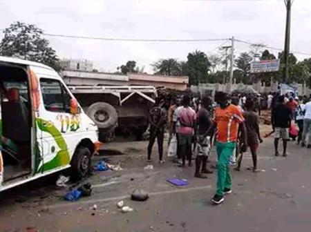 Bingerville : un grave accident signalé au carrefour CIE fait plusieurs victimes