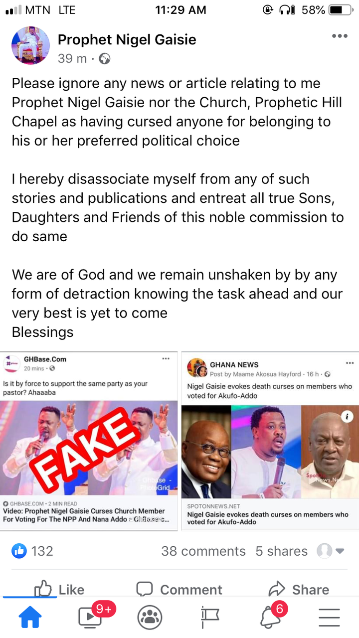 9c5668324fc9a4e19a3d22dce3feffc0?quality=uhq&resize=720 - Nigel Gaisie React To Report That He Cursed A Church Member For Voting For Nana Addo