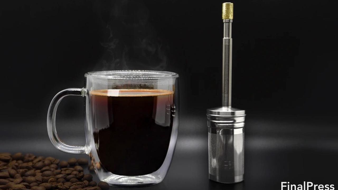 FinalPress coffee and tea maker hits Kickstarter