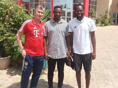 Benedict Akwuegbu Names His Greatest Super Eagles' Eleven