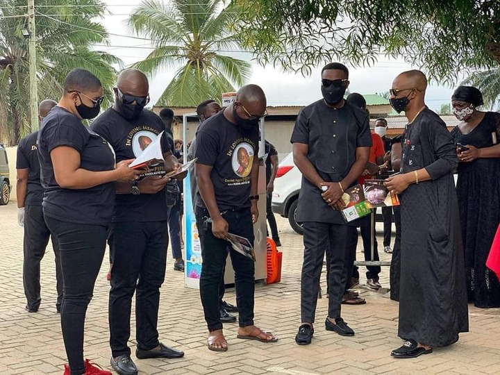 9c6e81b20c3f30125d1531dc260ca99c?quality=uhq&resize=720 - Management & Staff of Despite Media arrives at the one week observation Of Late Nana Adjei Sikapa(Photos)