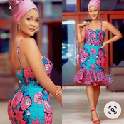 Ladies, Look Attractive With These Short Gown Styles For Fashionable And Modern Ladies