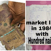 List of Food items a woman allegedly bought with just N100 in 1984