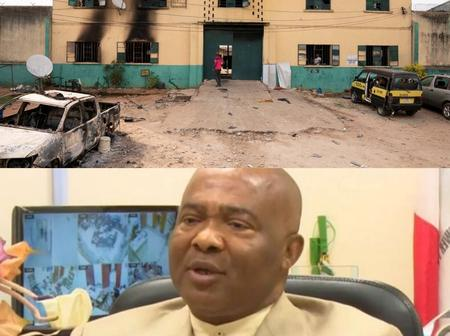 Imo state Governor reveals real people behind Imo state attack.