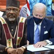 After Joe Biden Reverses Travel Ban On Nigeria, Read What Senator Dino Melaye Said