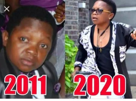 See real age of Chinedu Ikedieze (Aki), his wife and child