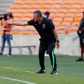 """""""Chiefs Deserved 3 Penalties, But We Were Cheated"""". Gavin Hunt Blame Referee For Draw Against Baroka"""
