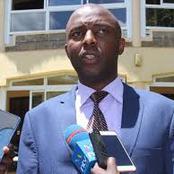 Finally Irungu Kang'ata Makes Declaration That Will Make William Ruto Ever Smiling