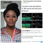 Popular Journalist Digs Up Tweet Of A Guy Begging For Money After He Called Her A Broke Woman