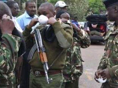 Panic After A Police Allegedly Sprays A Disabled Boy With Bullets Under Unclear Circumstances