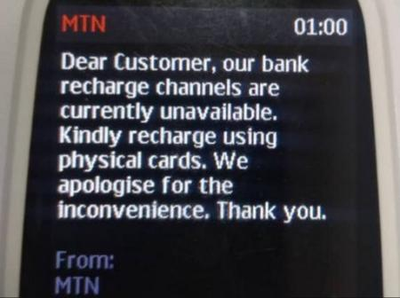 MTN Users Who Are Unable To Recharge, Please Read This information