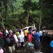 Enugu: School Children Die As school Bus Gets Mangled in Road Accident