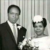 Kenyans Elated After Seeing This Wedding Photo Of Kibaki And His Late Wife That Has Resurfaced