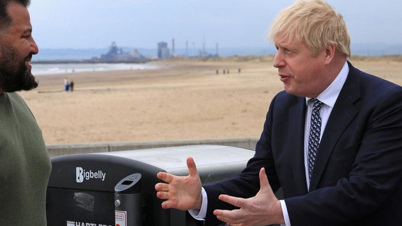 Boris Johnson says England 'can look forward to unlocking' with roadmap on track