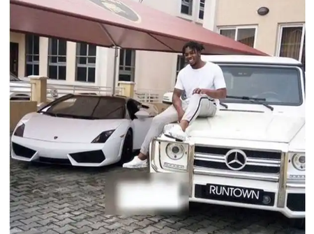 Life Is Good; Check out Runtown Adorable Family, Fleet Of Cars And Mansion