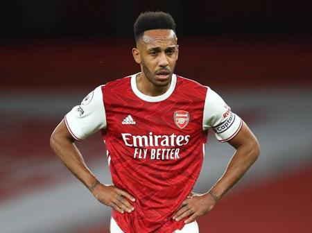 Arsenal Finally Clarifies On Aubamayeng's Captaincy After Weekend Drama