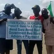 See What Youths Are Doing Again After Curfew Imposition By Nigeria Government