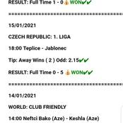 Biggest Winning Tips Today Evening