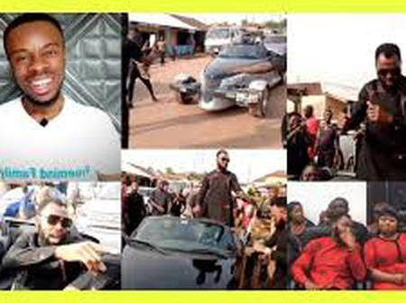 Instead of looking forward to attending the funeral, see what Rev Obofour was doing at the streets.