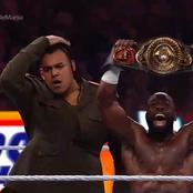 Nigerian Wrestler Wins Second WWE Championship At WrestleMania 37